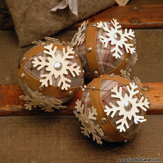 Leather decorations you could make this Christmas